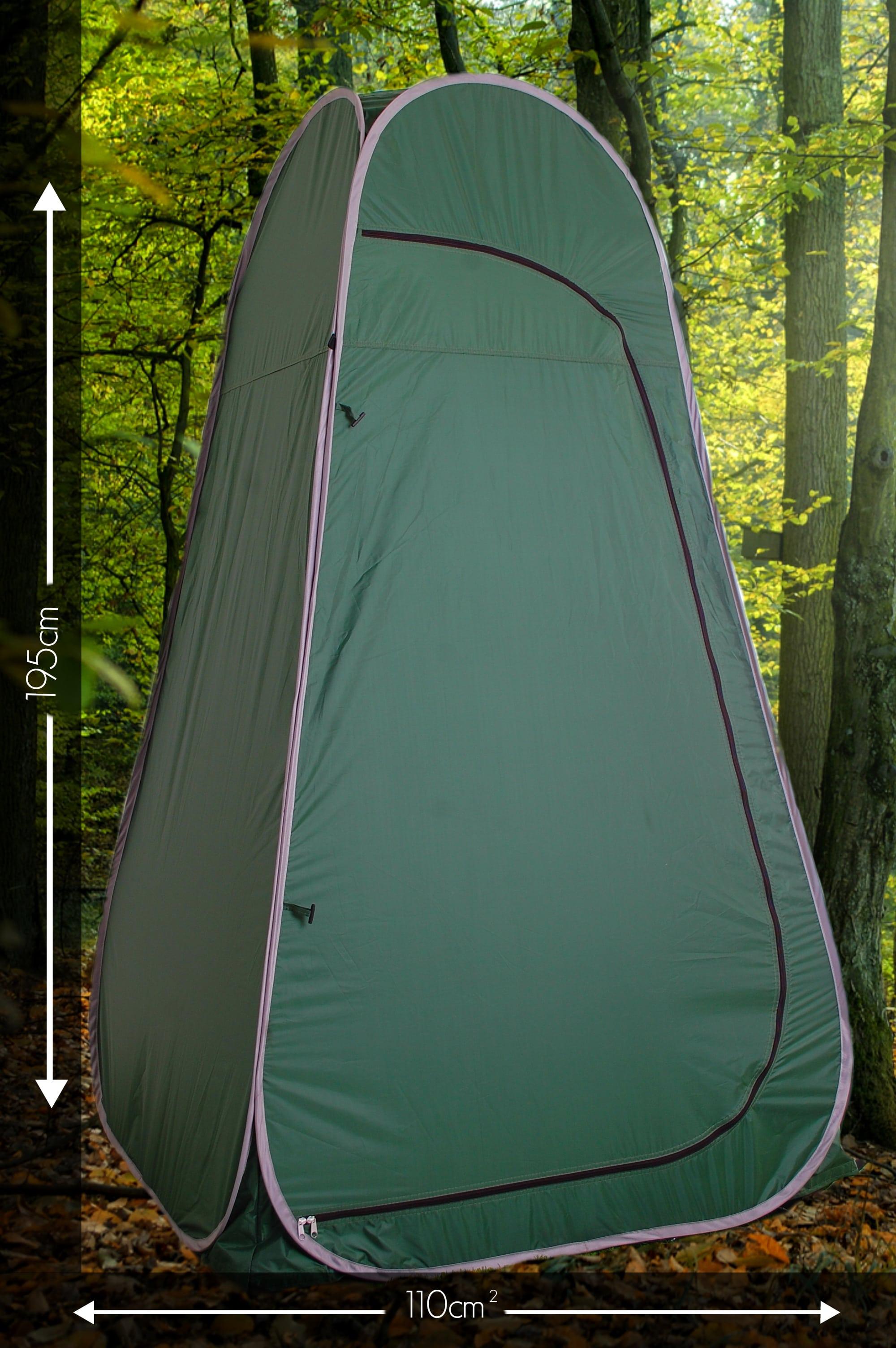 large tent & Pop Up Toilet Tent With a Detachable Base u0026 Carry Case