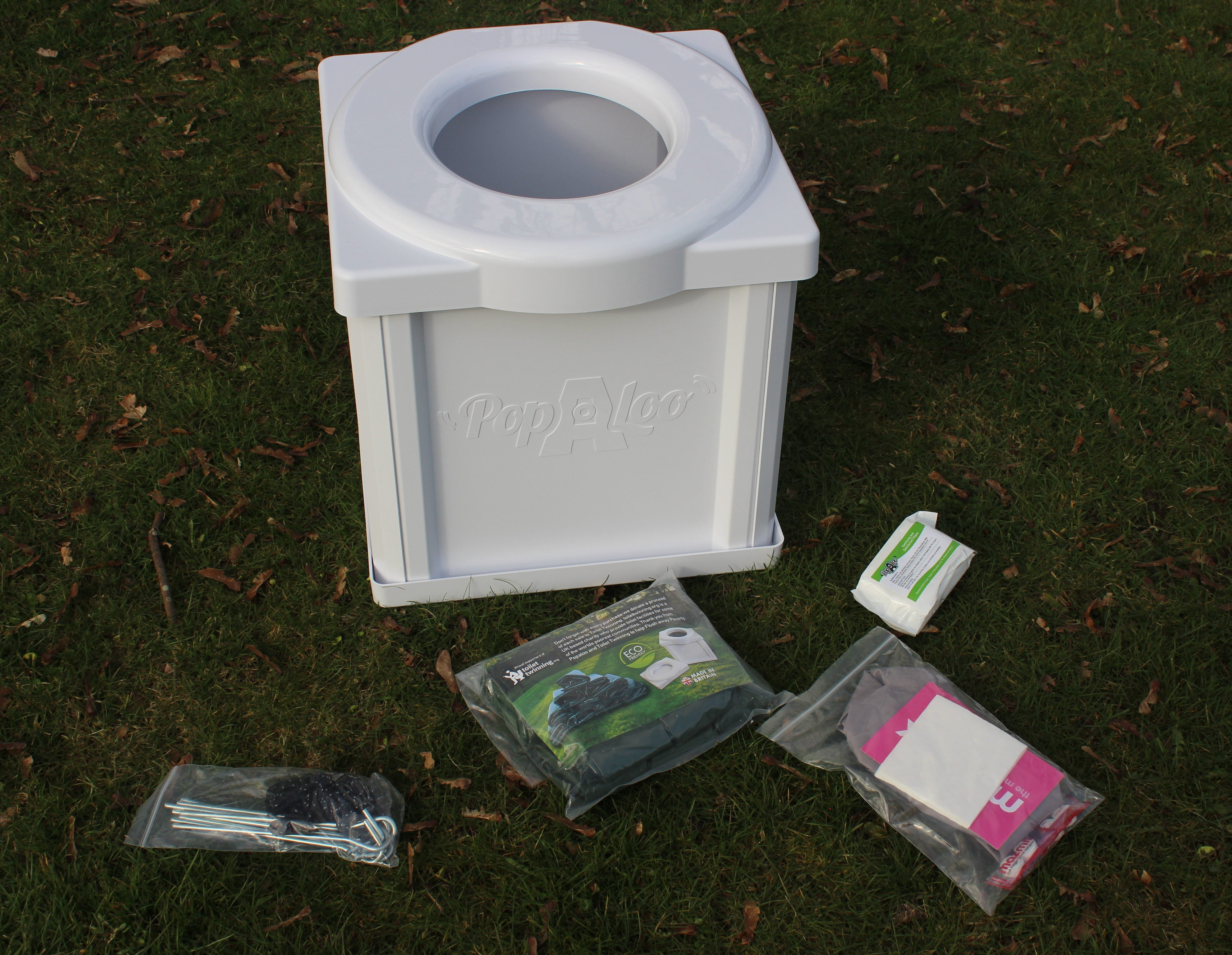 Portable Camping Toilet : The ideal toilet for your camping festival & outdoor activities