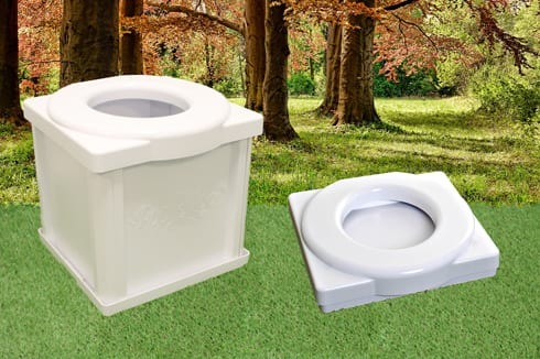 Portable Camping Toilet : Popaloo portable camping toilet with all the essentials